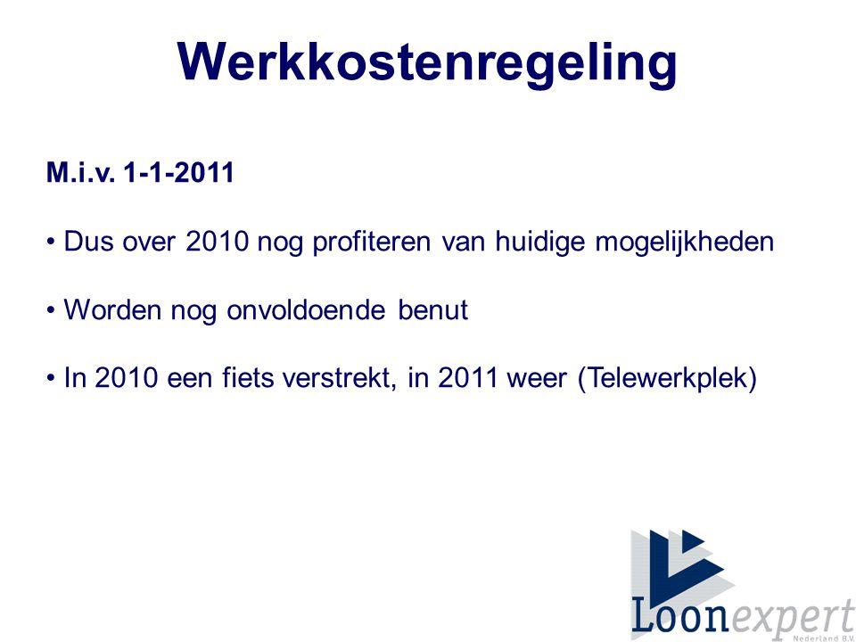 Werkkostenregeling M.i.v.