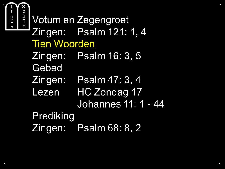 Psalm 16: 3, 5