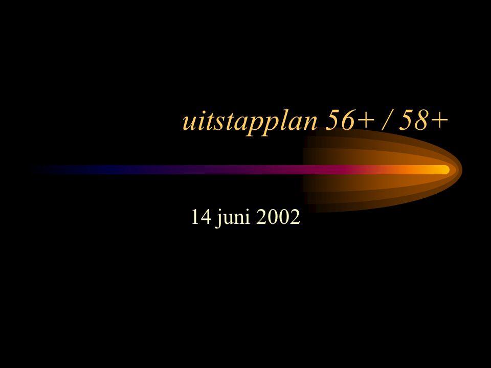 uitstapplan 56+ / 58+ 14 juni 2002