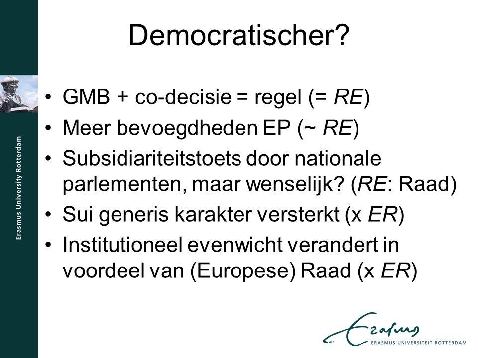 Democratischer.