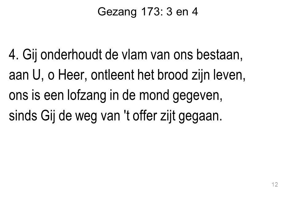 Gezang 173: 3 en 4 4.