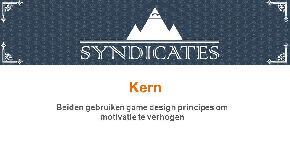 Kern Beiden gebruiken game design principes om motivatie te verhogen