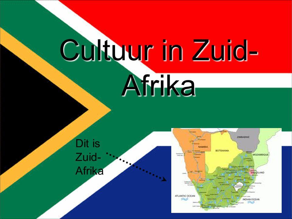 Rick-Jesse-Romy-Jill Cultuur in Zuid- Afrika Dit is Zuid- Afrika