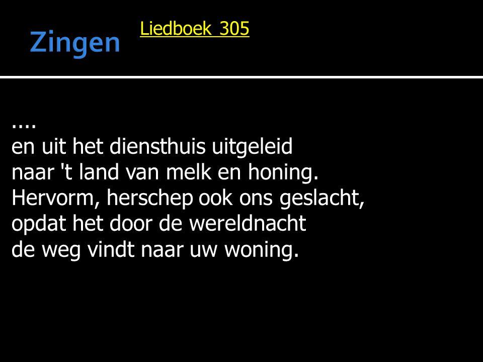Liedboek 305....