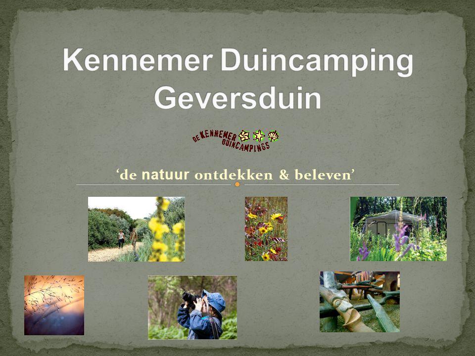 'de natuur ontdekken & beleven'