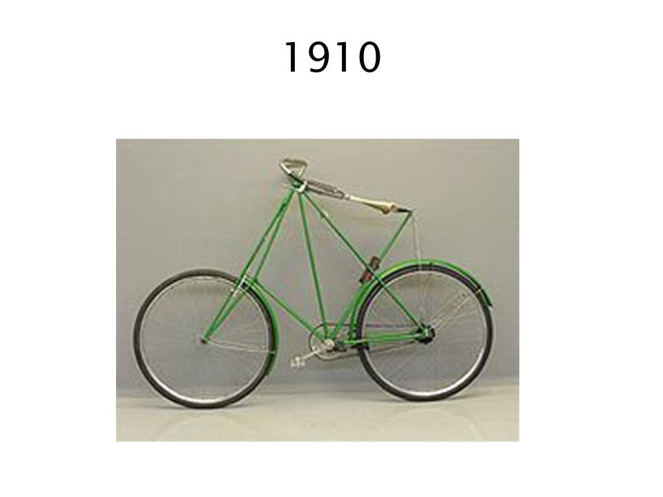 1889 De opblaasbare rubber banden voor de fiets worden uitgevonden