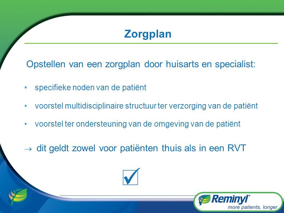 Zorgplan Opstellen van een zorgplan door huisarts en specialist: specifieke noden van de patiënt voorstel multidisciplinaire structuur ter verzorging