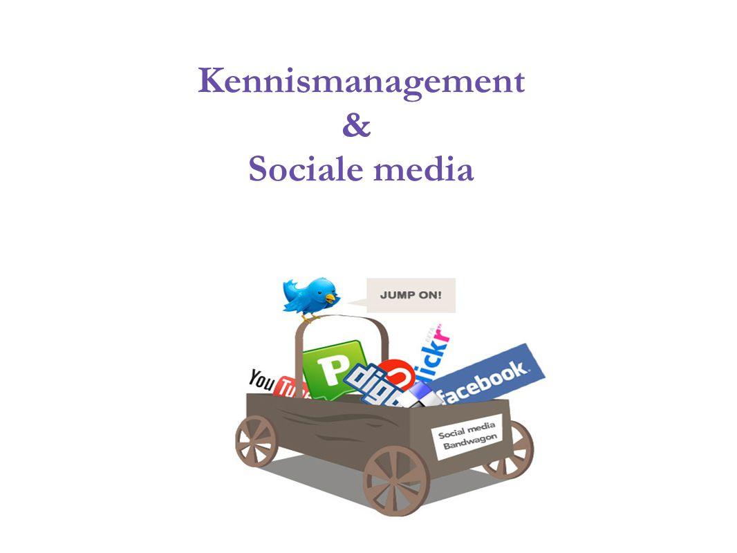 Kennismanagement & Sociale media