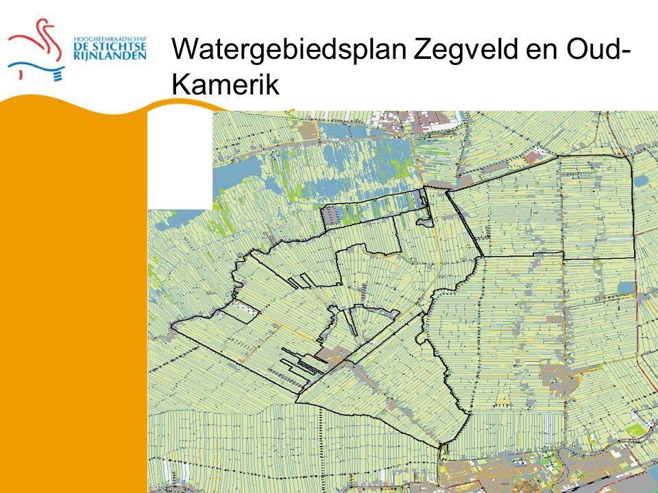 Watergebiedsplan Zegveld en Oud- Kamerik