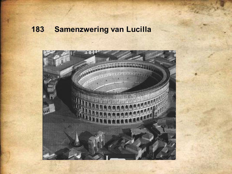 183Samenzwering van Lucilla