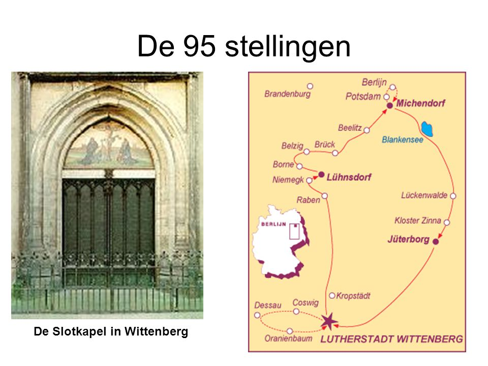 De 95 stellingen De Slotkapel in Wittenberg