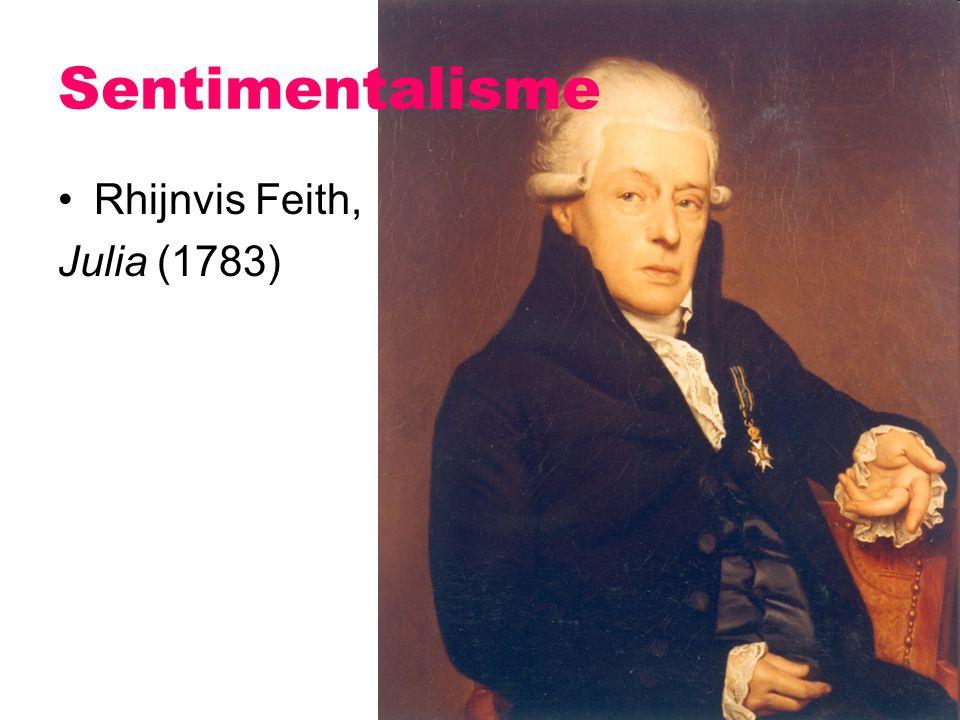 Rhijnvis Feith, Julia (1783) Sentimentalisme