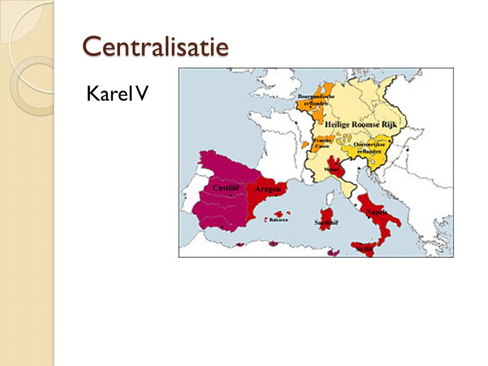 Centralisatie Karel V