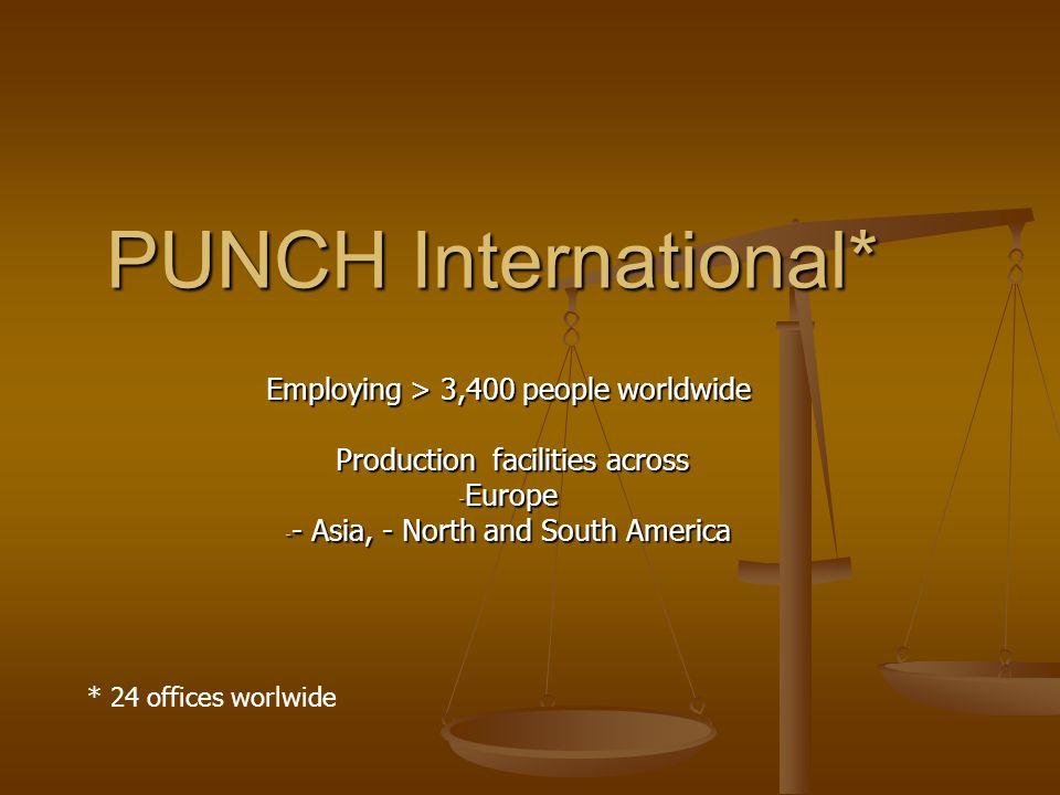PUNCH International PUNCH International Technische analyse (one day 31/1/06) + Z?50 %+ 4,50 %