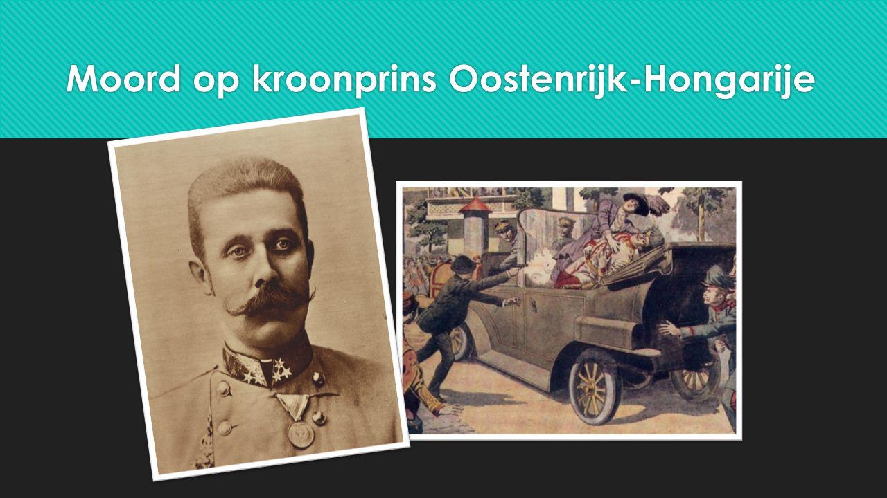 Moord op kroonprins Oostenrijk-Hongarije