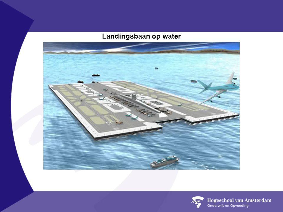 Landingsbaan op water