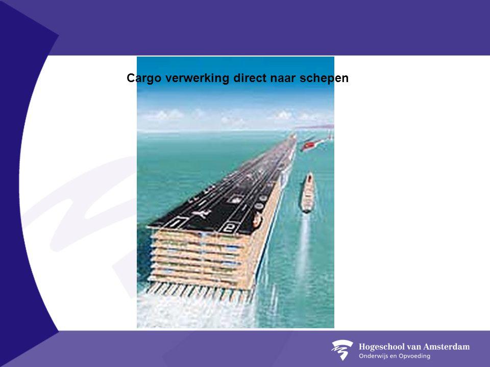 Cargo verwerking direct naar schepen