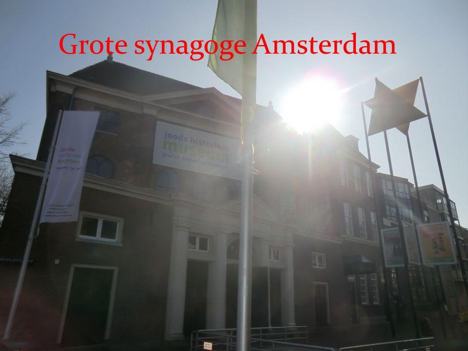 Grote synagoge Amsterdam