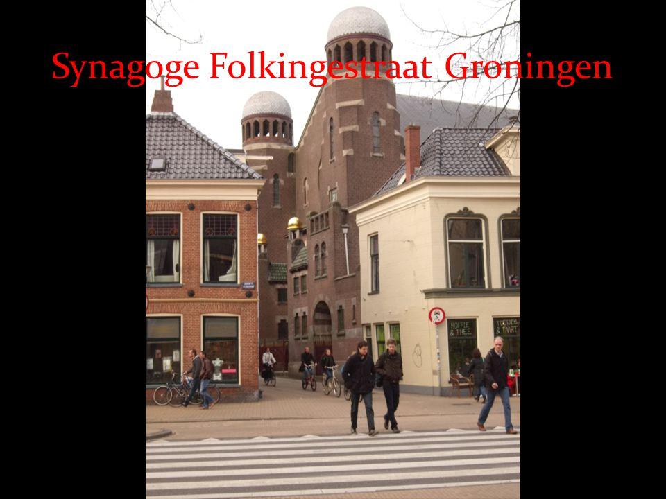 Synagoge Folkingestraat Groningen