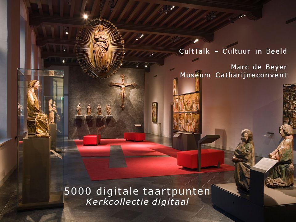 5000 digitale taartpunten Kerkcollectie digitaal CultTalk – Cultuur in Beeld Marc de Beyer Museum Catharijneconvent