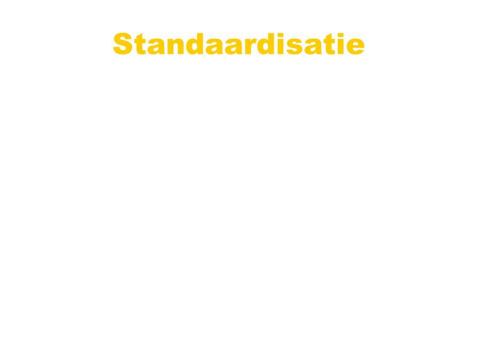 Standaardisatie