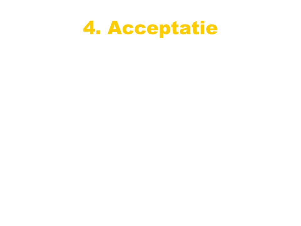 4. Acceptatie
