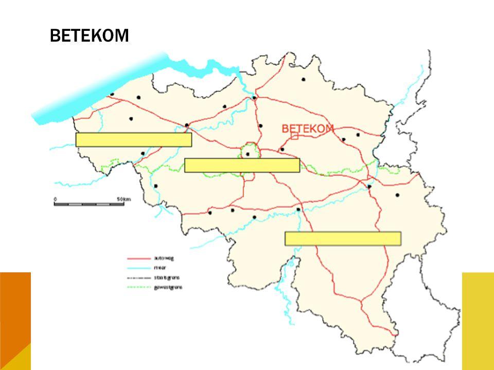 OPDRACHT 20 -Welke 3 gewesten zijn er in België.