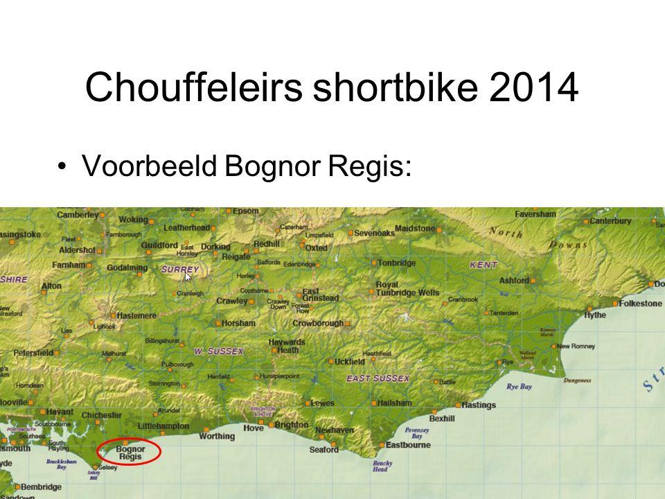 Chouffeleirs shortbike 2014 Voorbeeld Bognor Regis:
