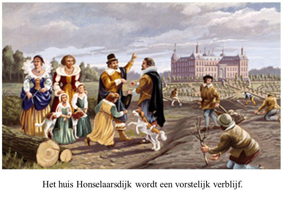 Amalia van Solms eert de nagedachtenis van haar gemaal.