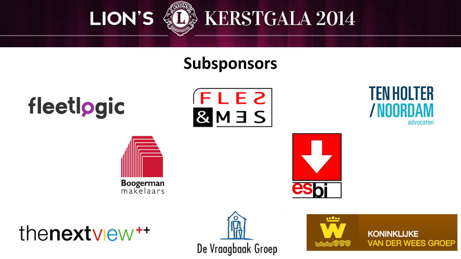 Subsponsors
