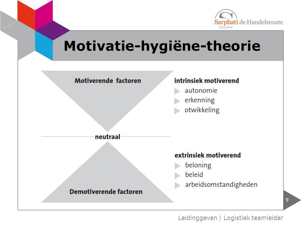 9 Motivatie-hygiëne-theorie