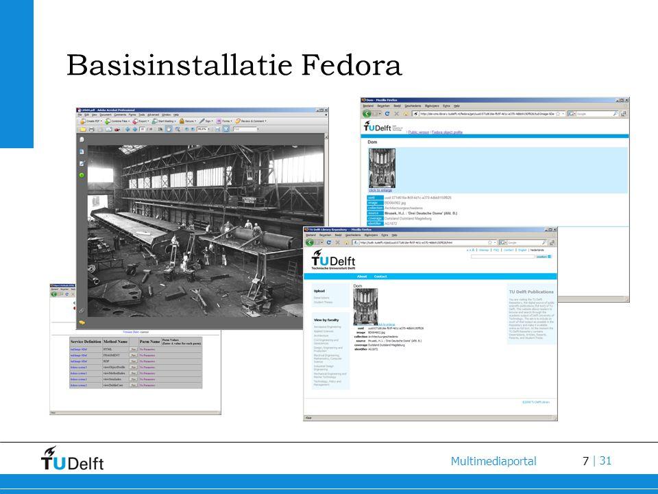 7 Multimediaportal | 31 Basisinstallatie Fedora