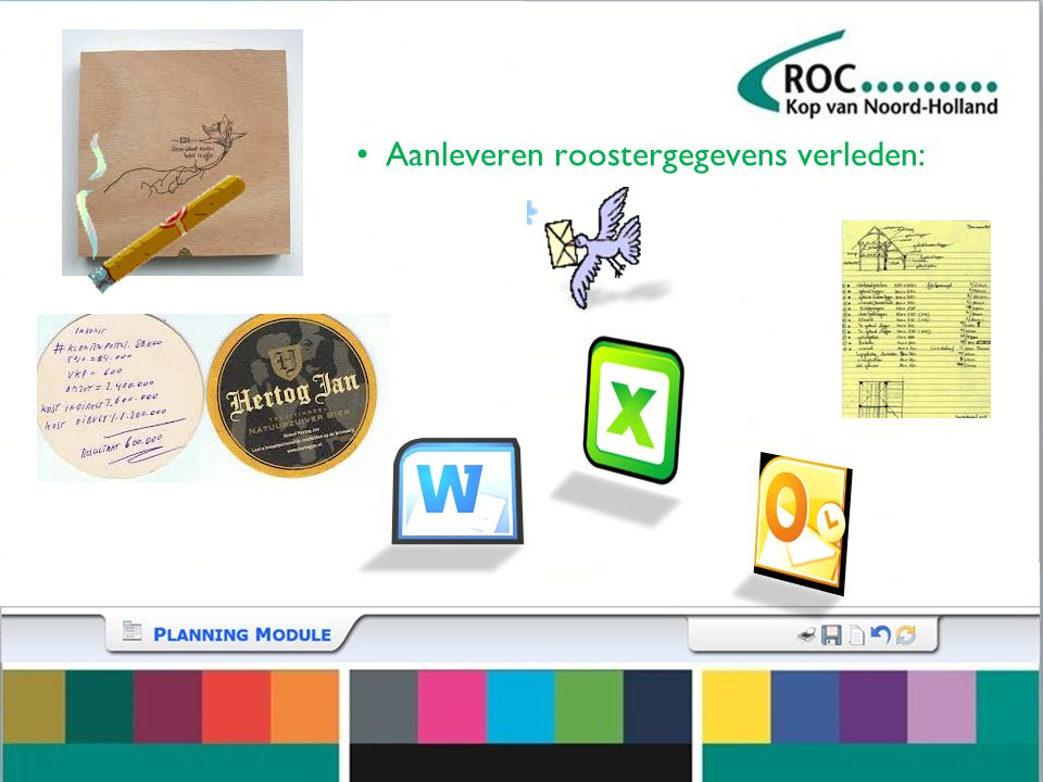 Planningsmodule Rooster Planning Formatie