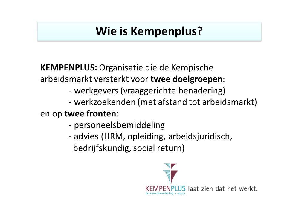 Wie is Kempenplus.