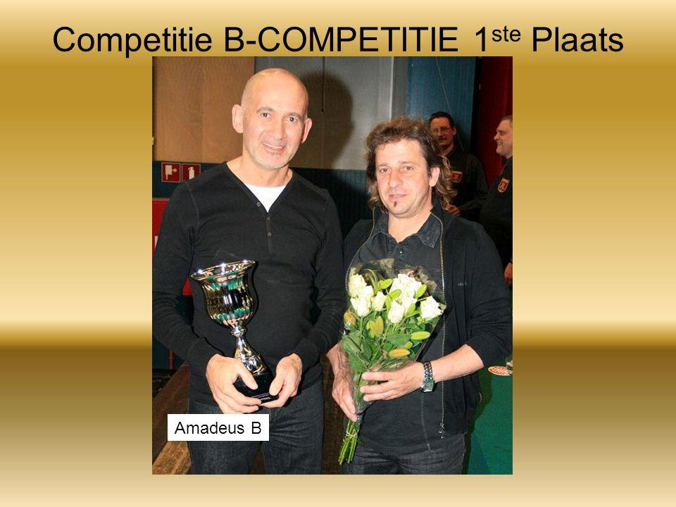 Competitie B-COMPETITIE 1 ste Plaats Amadeus B