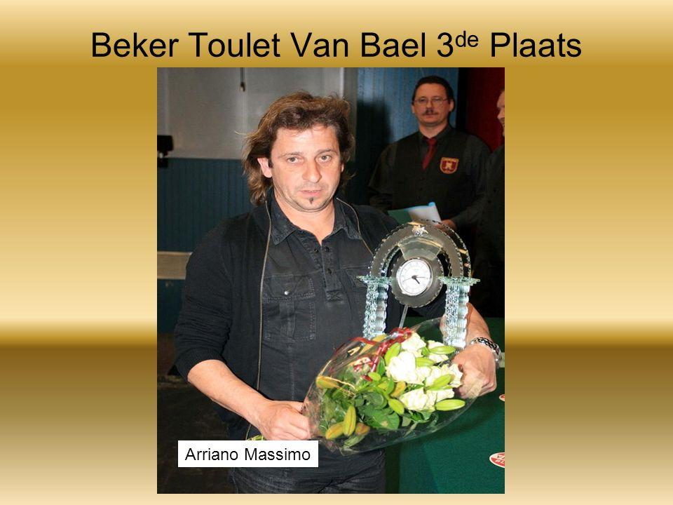 Beker Toulet Van Bael 3 de Plaats Arriano Massimo