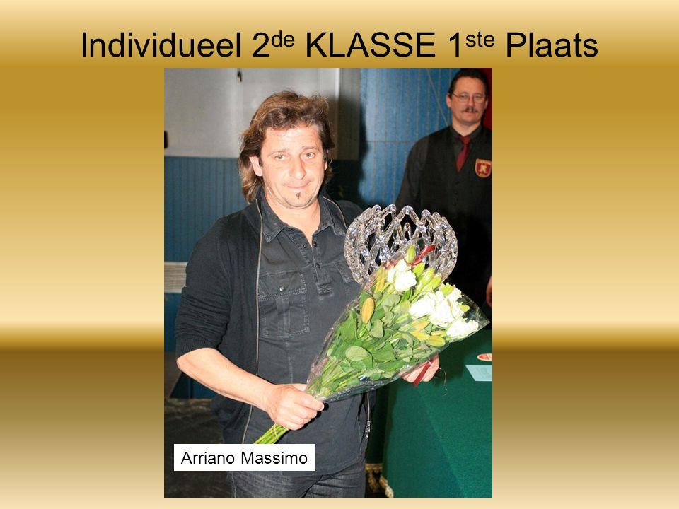 Individueel 2 de KLASSE 1 ste Plaats Arriano Massimo