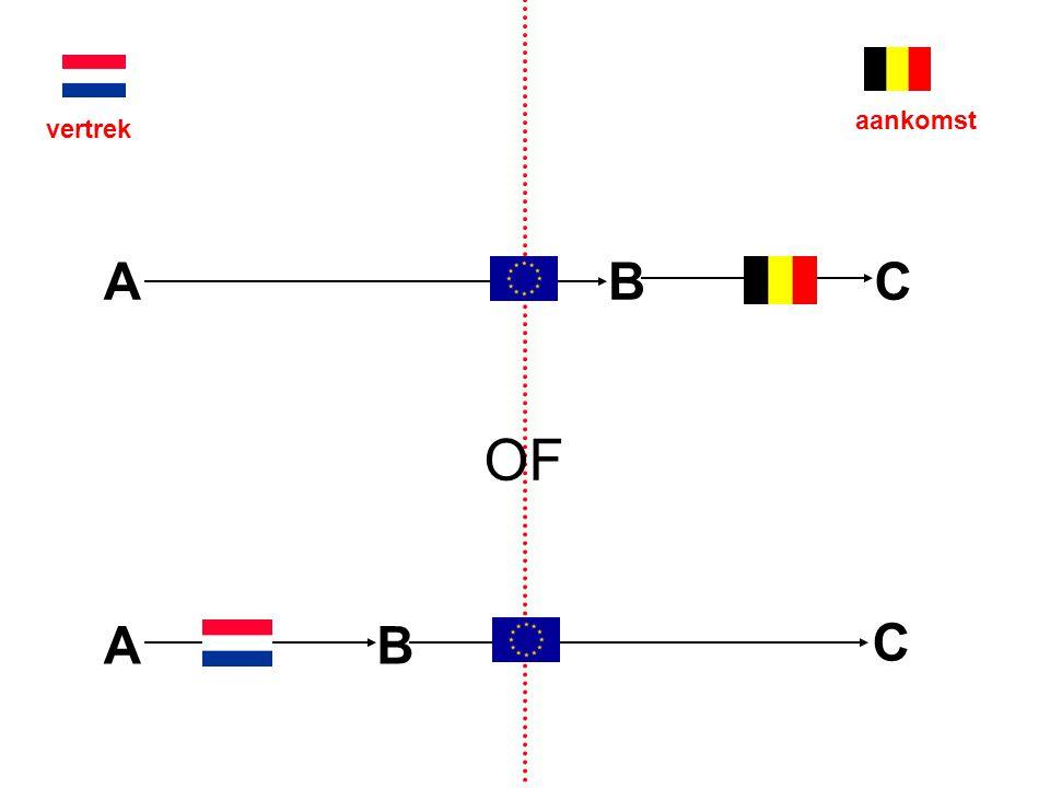 EU-complicaties voor ABC- vereenvoudiging alleen mogelijk als A de feitelijke macht heeft gedurende het transport geen aftrek, maar vermindering van maatstaf van heffing voor nummerverwerving (B) is dit werkbaar?