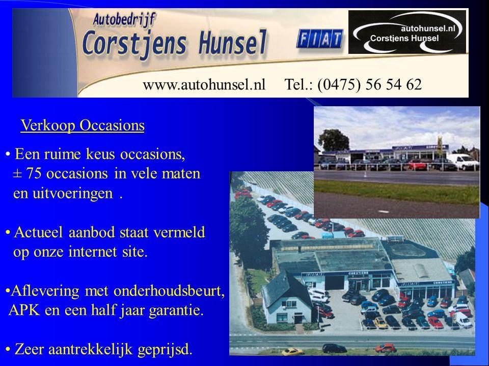 Verkoop Nieuw en Lease Ook voor een nieuwe auto Of leasing kunt U bij ons terecht Naast onze Fiat specialiteit kunt U voor elk merk terecht .