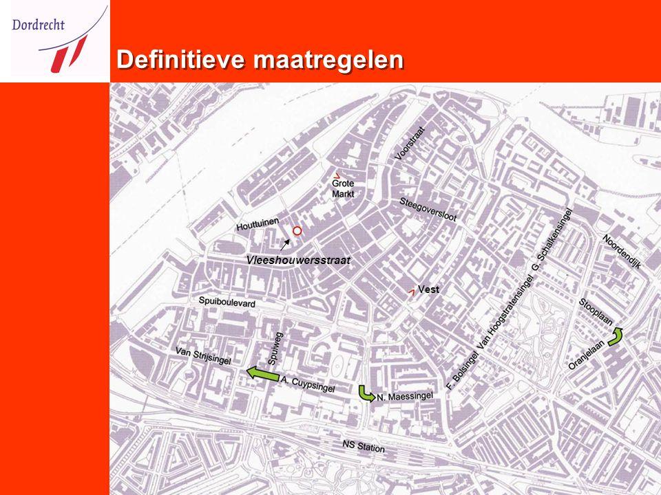 Definitieve maatregelen Vest Vleeshouwersstraat