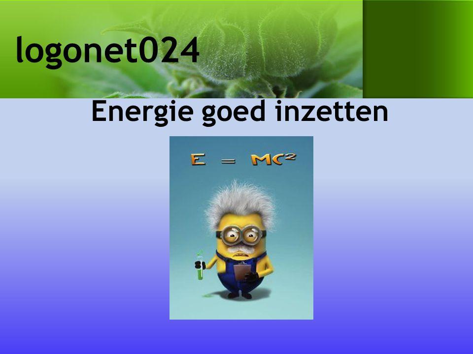 logonet024 Energie goed inzetten