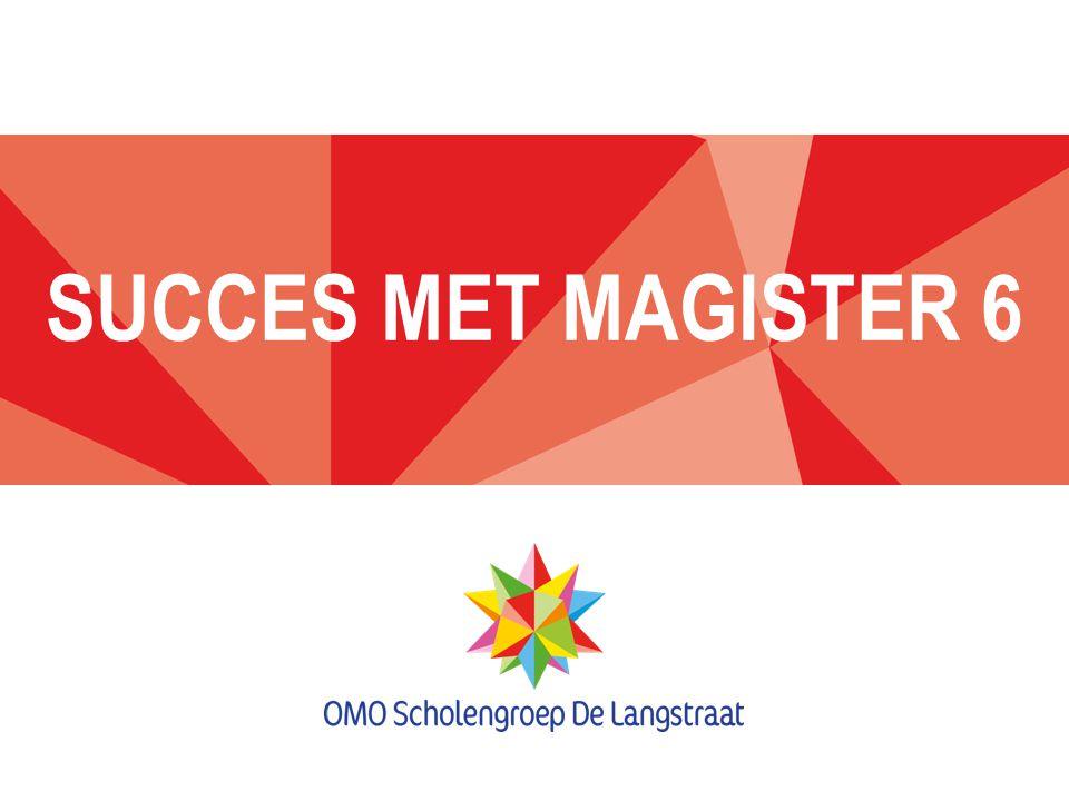SUCCES MET MAGISTER 6
