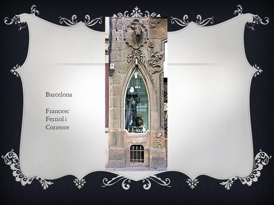 Barcelona Francesc Ferriol i Correros
