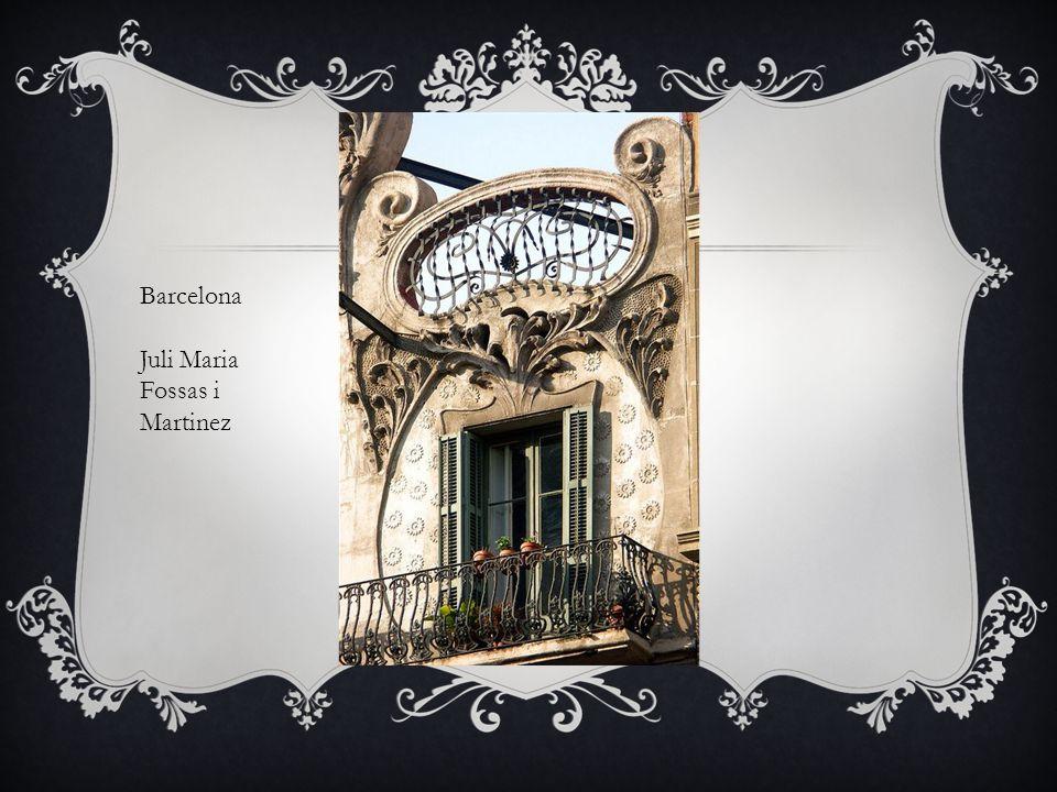 Barcelona Antoni Gaudi & Josep Maria Jajol 1904-1906