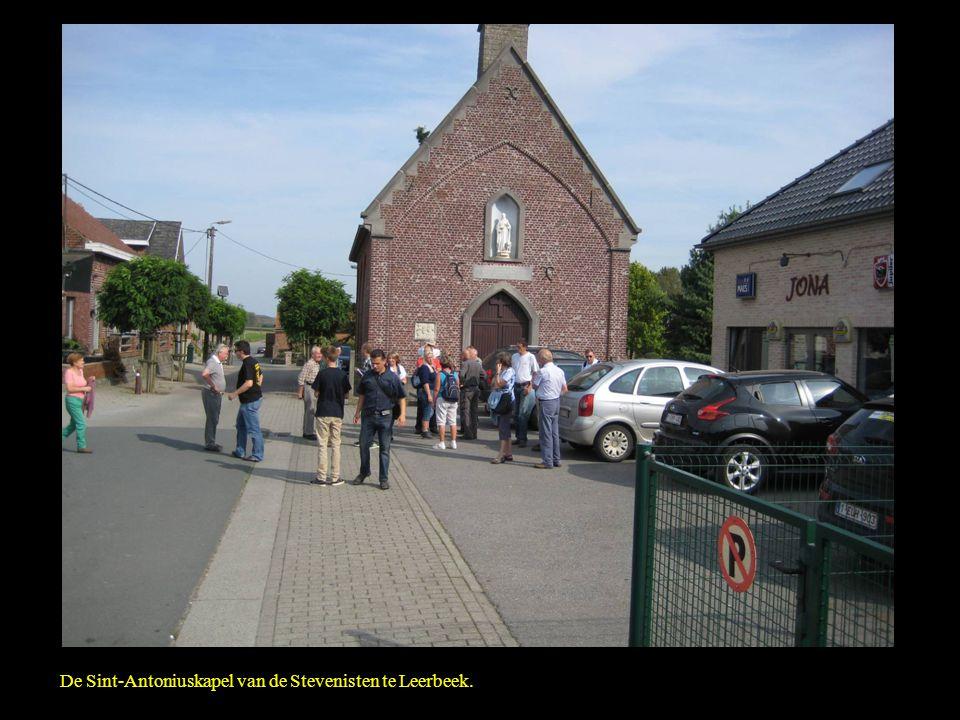 De Sint-Antoniuskapel van de Stevenisten te Leerbeek.
