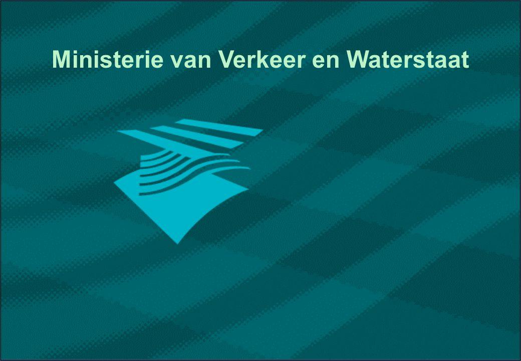 samenwerkende RD's / Bouwdienst COGO Ministerie van Verkeer en Waterstaat