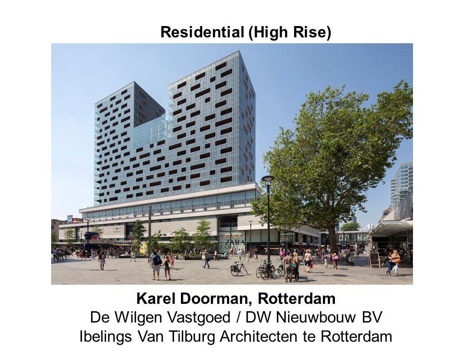 karel doorman Residential (High Rise) Karel Doorman, Rotterdam De Wilgen Vastgoed / DW Nieuwbouw BV Ibelings Van Tilburg Architecten te Rotterdam