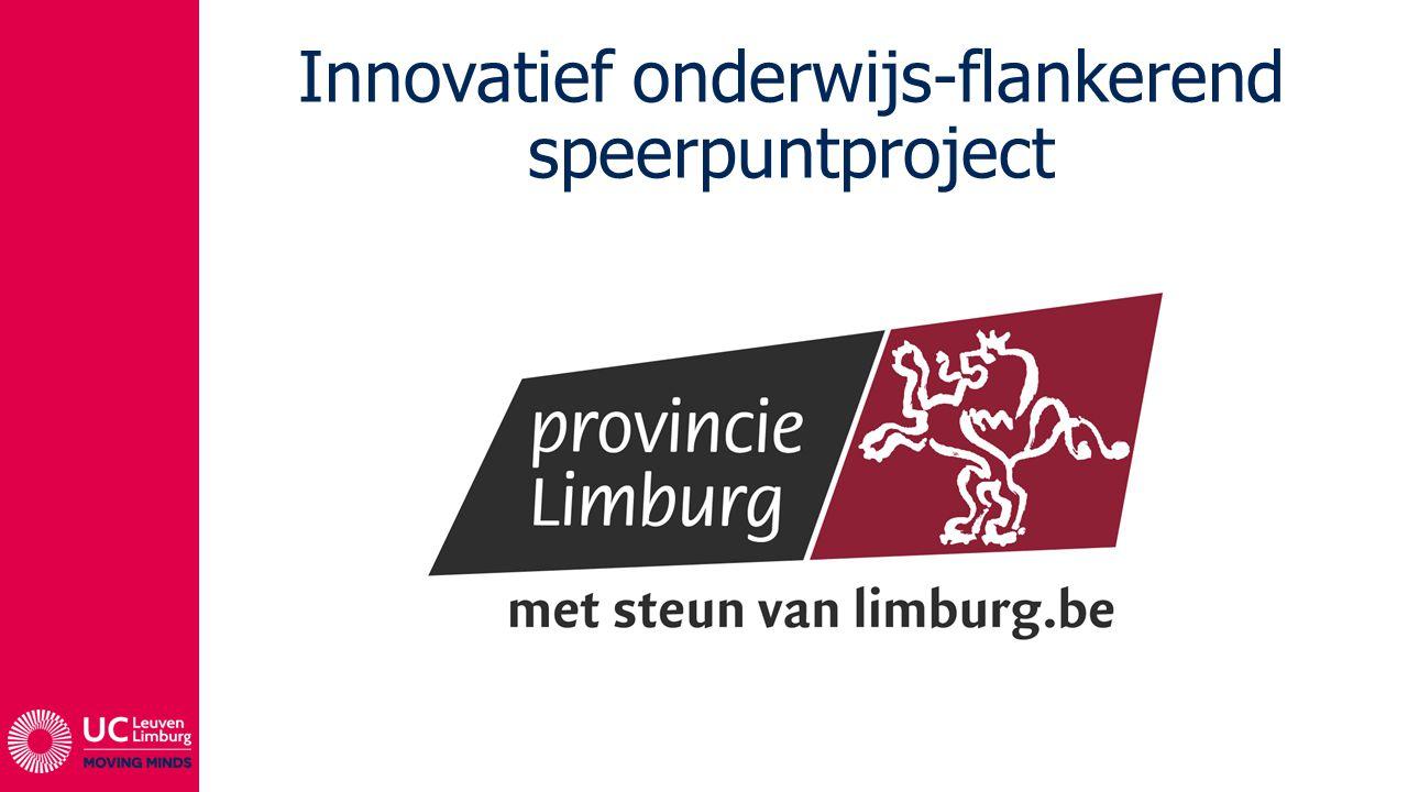 Innovatief onderwijs-flankerend speerpuntproject
