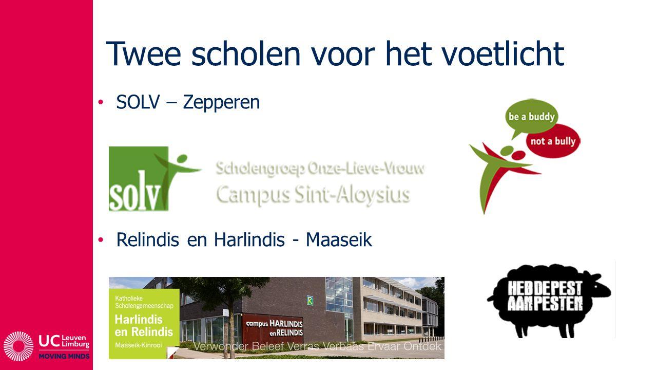 Twee scholen voor het voetlicht SOLV – Zepperen Relindis en Harlindis - Maaseik