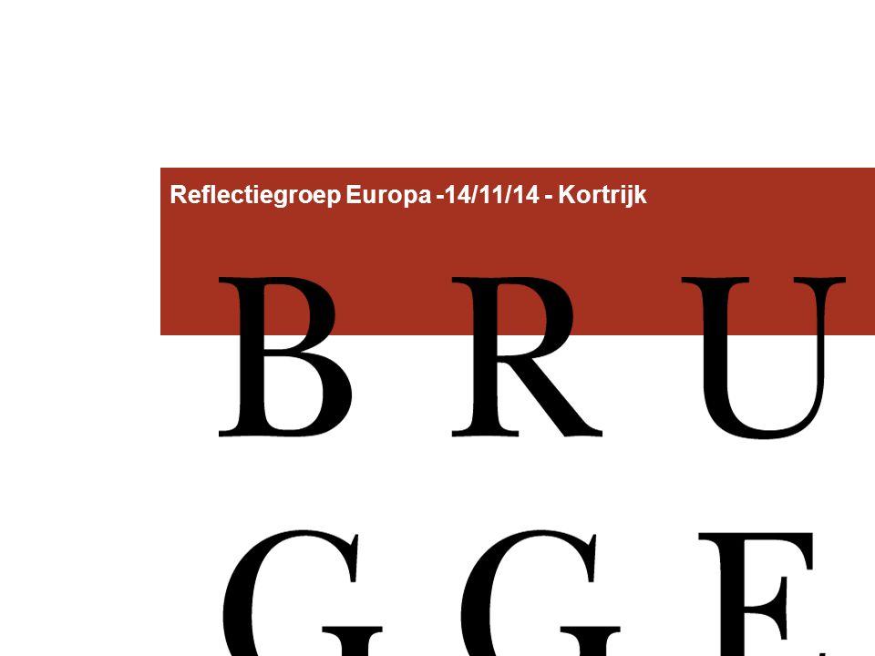 Reflectiegroep Europa -14/11/14 - Kortrijk